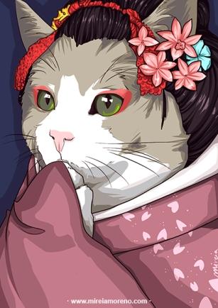 illustration ex4-obake-mireiamoreno
