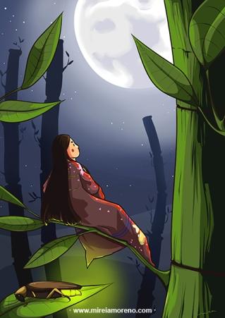 illustration ex9-obake-mireiamoreno