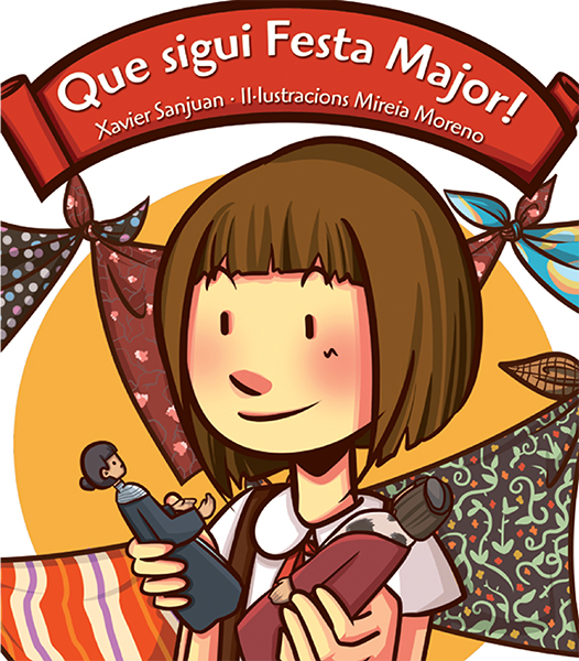 kids illustration portada-que sigui festa major-mireiamoreno